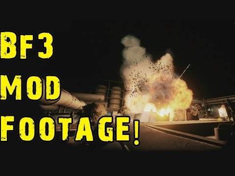 BF3 Mod Footage! Promod/Nightmod/FreeCam (w/ Mashed8)