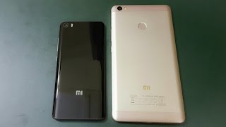 Xiaomi Mi Max vs Xiaomi Mi 5 ( Powerpack Comparison)