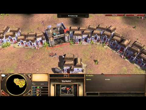 Age of Empires 3 Asian Dynasties - India - Mission 4 - Raid in Delhi