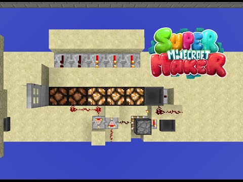 Item Counter Doorway -- Super Minecraft Maker Redstone Tutorial