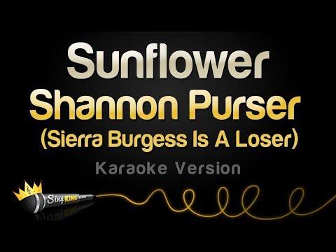 Shannon Purser - Sunflower (Karaoke Version)