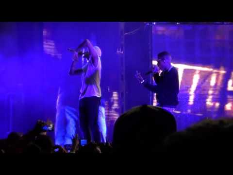 Kid Ink (Ft. Chris Brown) - Show Me - Concord Pavilion - Concord, CA - September 19, 2015