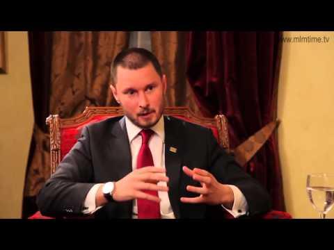 Станислав Санников  Интервью в программе 'Время MLM'