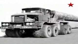 Малоизвестная советская техника. Очень крутые грузовики!