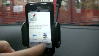 HTC Desire HD video Test Navigatore HTC Location e GMaps