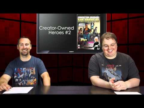 Alter Ego Comics TV Episode #80 - Comic News. Reviews & Previews