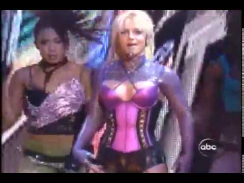 Britney Spears-me Against The Music (american Music Awards 2003)(live Vocals!) video