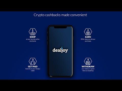 Dealjoy - Crypto Cashback | Обзор проекта