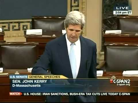 John Kerry: Climate change 'as dangerous' as Iran nuke program