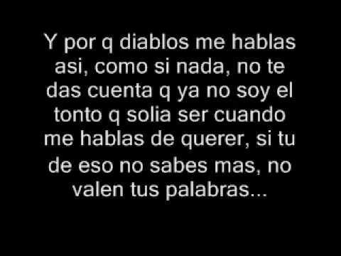 Juanes - Falsas Palabras