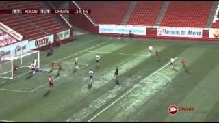 Resumen Xolos 1- 2 Chivas Sub 20 Semifinal Ida AP2014