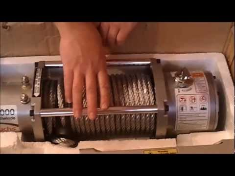 Unboxing: Electric Winch