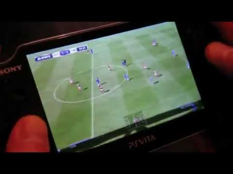 EA SPORTS FIFA Football for PS Vita Gameplay Video HD