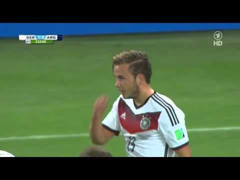 Mario Götze WM 2014 Finale Tor