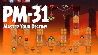 Angry Birds Star Wars 2 Level PM-31 Master Your Destiny 3 Star Walkthrough