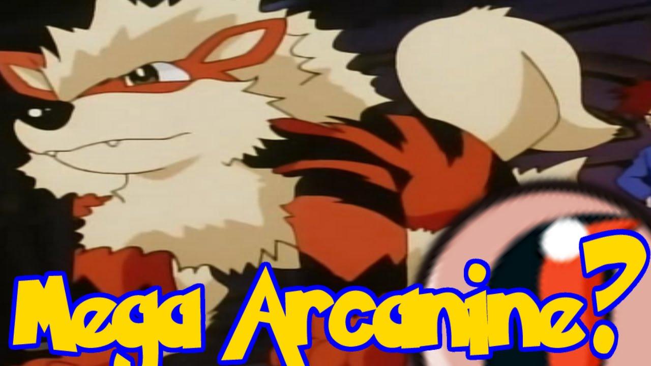 Mega arcanine pokemon
