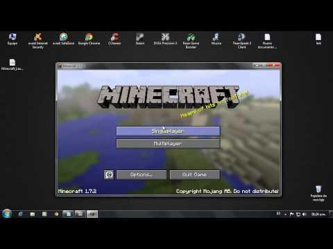 Como instalar minecraft v1.7.2  full Tutorial en Español