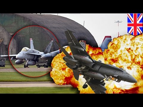 Fighter jet crash: US Marine pilot killed in 'huge fireball' at UK airbase crash - TomoNews
