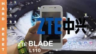 ZTE BLADE L110 Hard Reset Como Quitar la Contraseña
