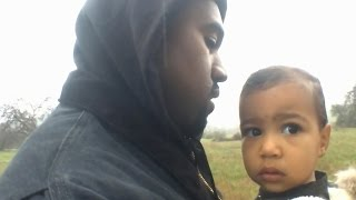 "Kanye Debuts ""Only One"" Music Video with North West"