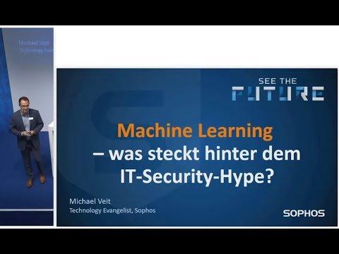 it-sa Sophos Vortrag zu Machine Learning und Künstlicher Intelligenz