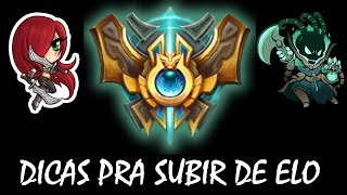 5 DICAS DE COMO SUBIR DE ELO  -  Eterno Lol -  League of Legends