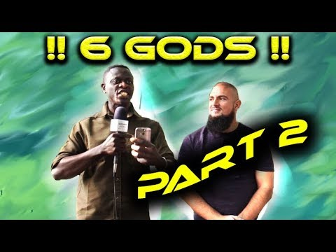 Speakers Corner !! Muhammad Tawheed vs Mike (6 Gods !!) PART 2