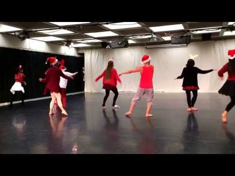Choreography Class all I Want For Christmas Is You Dance Cover video