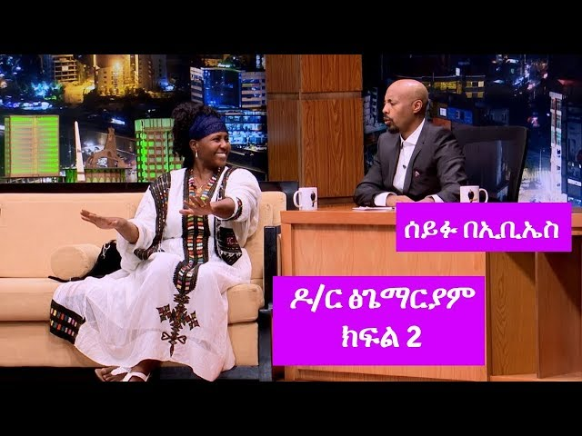 Seifu on EBS: Interview With American Citizen Dr. Tsigemariam Part 2