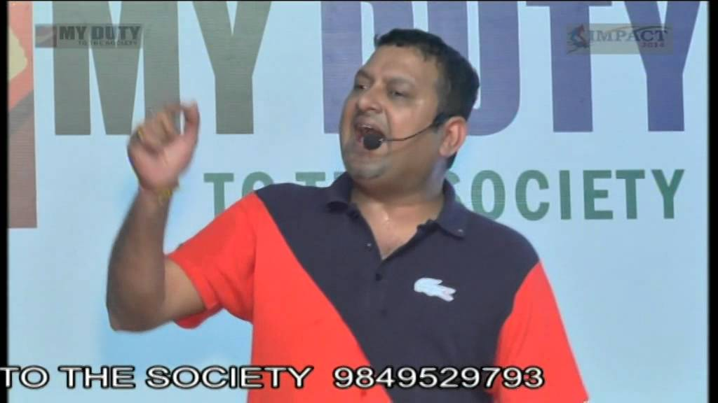 Thy Yourself by Sri JVC Sreeram at Khammam IMPACT 2014 - YouTube