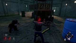 Dead by Daylight Saw DLC Reverse Bear Trap Death (Survivors POV)