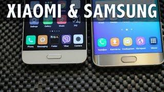 Xiaomi или Samsung -- Mi5 или s6 -- небольшое сравнение