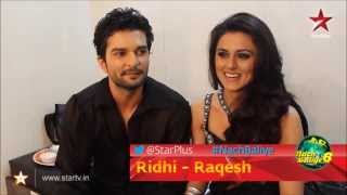 RaQesh & Ridhi give movie names to their love life!