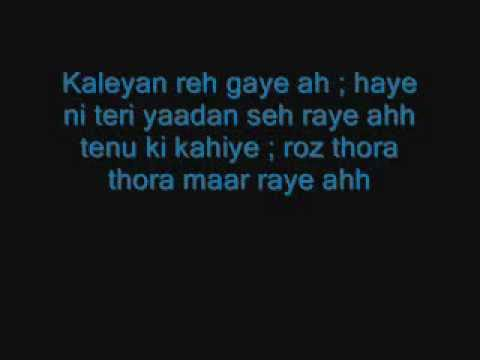 YouTube - Kaleyan(ALONE) Sunny Brown (lyrics).flv