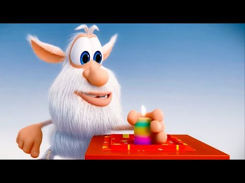 Booba - Candle - animated short - funny cartoon - Super ToonsTV thumbnail