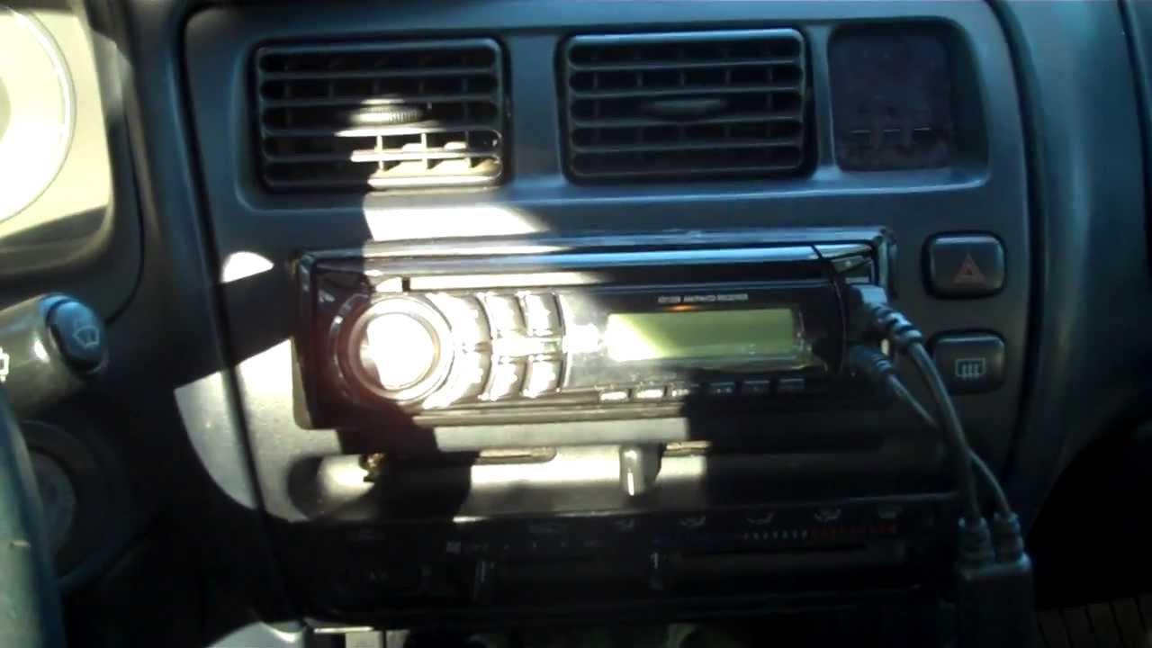 1998 honda civic stereo wiring radio removal install toyota corolla youtube  radio removal install toyota corolla youtube