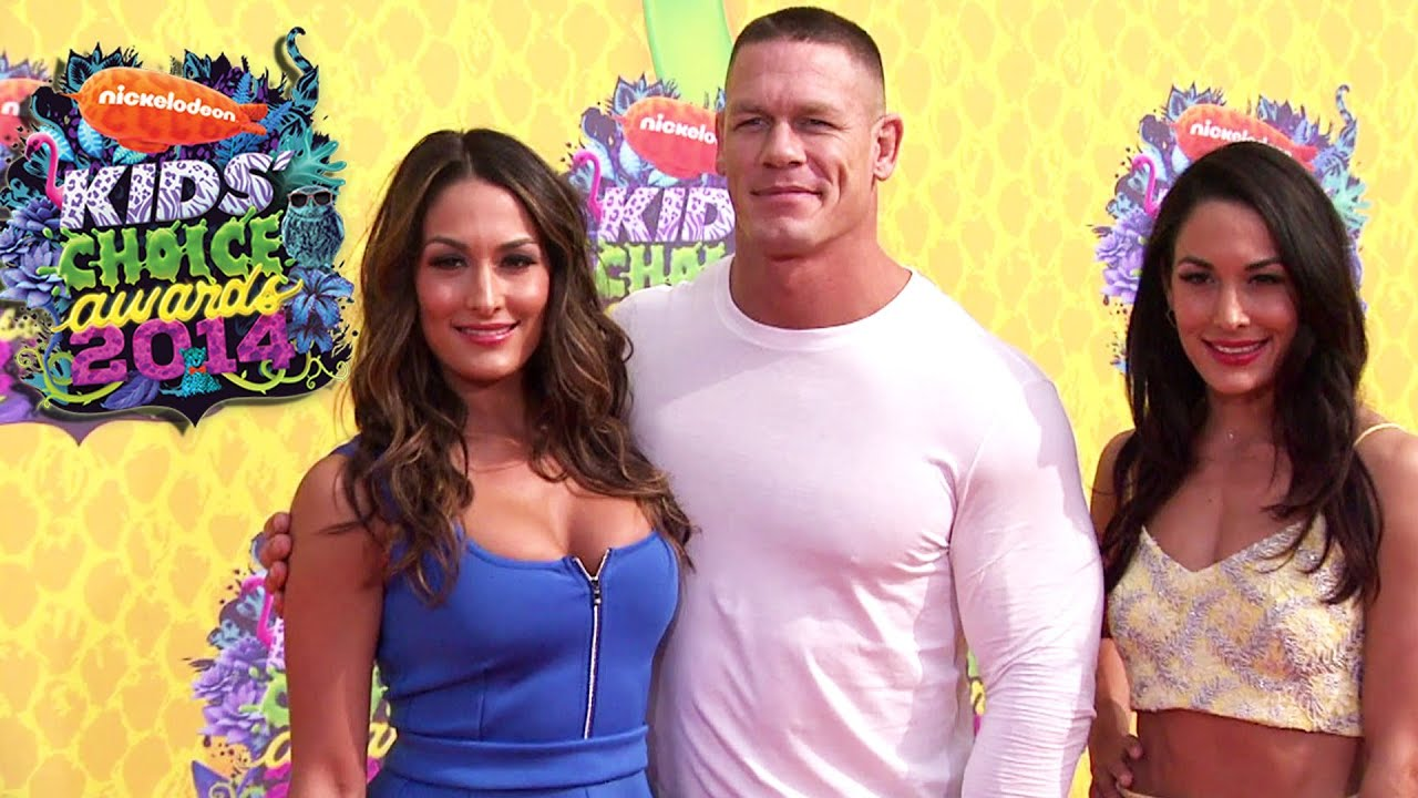 Twins Kids Wallpaper John Cena And The Bella Twins
