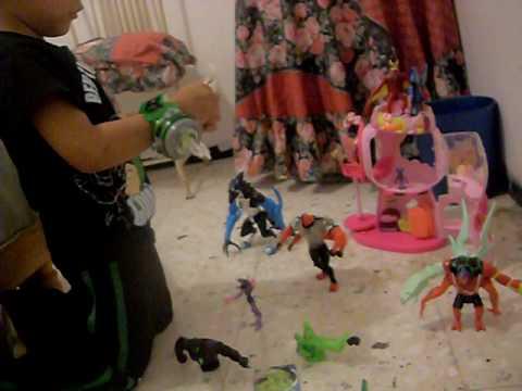 cesar y sus juguetes de ben 10 parte 1