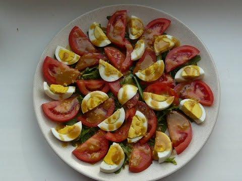 Салат на каждый день за 5 минут / Salad recipe very easy/salaty