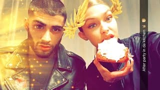 GIGI HADID SNAPCHAT VIDEOS 3 (ft. Zayn Malik,Taylor Swift,Kendall Jenner,etc.)