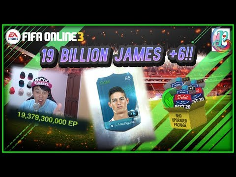 ~WOW!!! +6 James!!!~ NHD Upgraded Package 2019 Opening - FIFA ONLINE 3