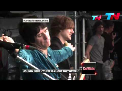 Johnny Marr - There Is A Light That Never Goes Out - Lollapalooza Argentina 2014