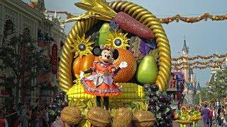 Mickey's Halloween Celebration Parade 2018 - Disneyland Paris