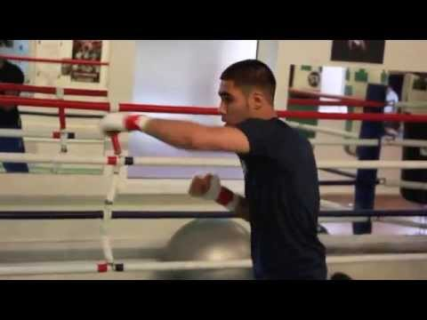 OUTSTANDING TALENT YUSAF SAFA SHADOW BOXING FOOTAGE FROM BODYSHOTS GYM / iFL TV