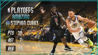Stephen Curry - Full Highlights Vs angeles Clippers - Playoffs 2019 - (14/04/2019)