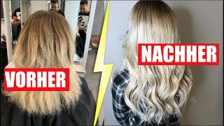 MEINE HAARTRANSFORMATION! (EXTREM UMSTYLING) | Sonny Loops