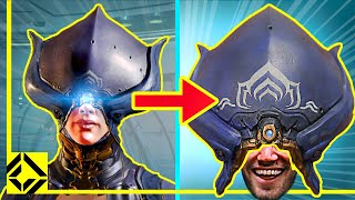 We Built The Lotus Helmet From WARFRAME
