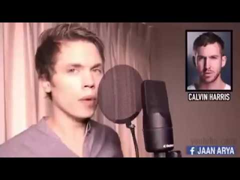 Un ragazzo che canta 23 voci di cantanti famosi
