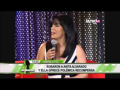 Le robaron a Anita Alvarado y ahora ella ofrece polémica recompensa