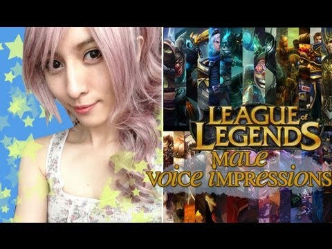 Voicing All MALE League of Legends Champions
